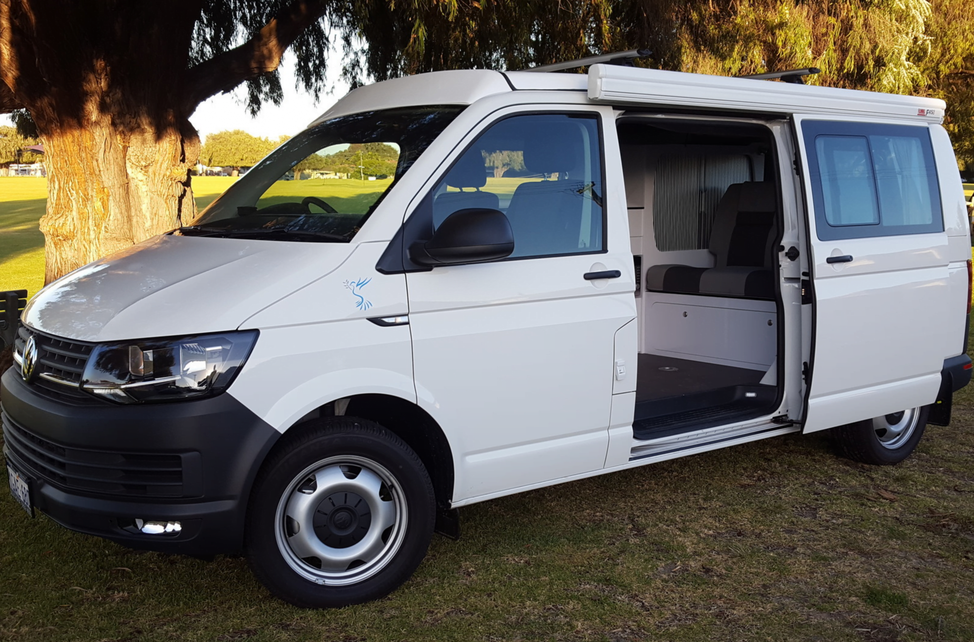 New Vw Transporter Camper By Order Dove Campers Perth Wa
