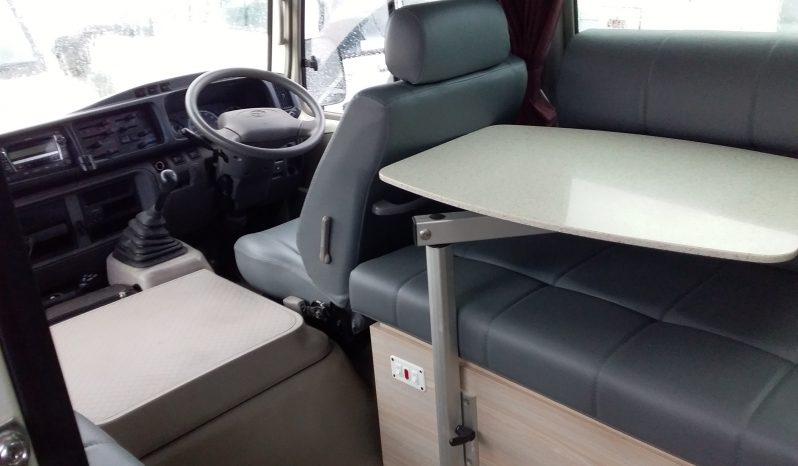 Toyota Coaster Motorhome 2011 new fitout full
